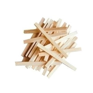 Playbox Houten Sticks, knutselhoutjes 450 stuks