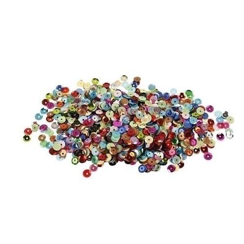 Creotime Pailletten rond 10 gram 6 mm