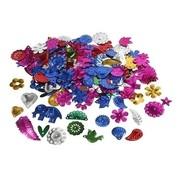 Creotime Paillettenmix 30 gram 15-45 mm sterke kleuren