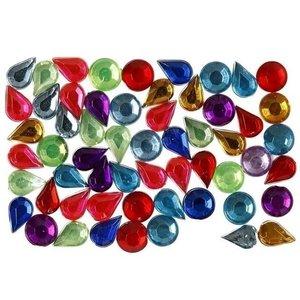 Strass Stenen 5 mm 15 gram rond en druppels