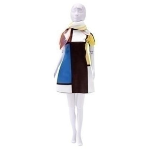 Dress your Doll Dress your Doll Twiggy Mondriaan