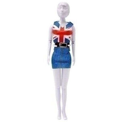 Dress your Doll Dress your Doll Combi red-blue