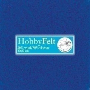 De Witte Engel Hobbyvilt 20 x 30 cm Blauw