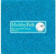 De Witte Engel Hobbyvilt 20 x 30 cm Lichtblauw