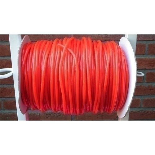 Rol springtouw 150 meter rood