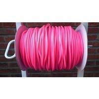 Springtouw per meter roze