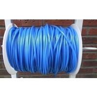 Rol springtouw 150 meter blauw
