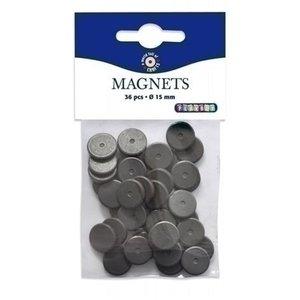 Playbox Magneten 15 mm 36 stuks