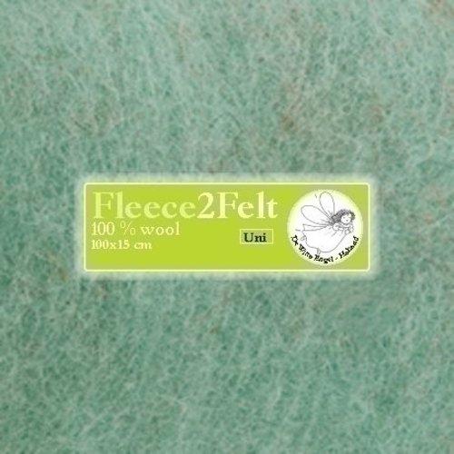 De Witte Engel Fleece2Felt 100 x 15 cm Mint VD0082