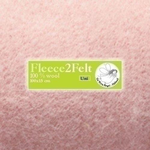 De Witte Engel Fleece2Felt 100 x 15 cm Roze VD0092