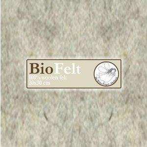 De Witte Engel BioFelt 30 x 20 cm Lichtbeige V642