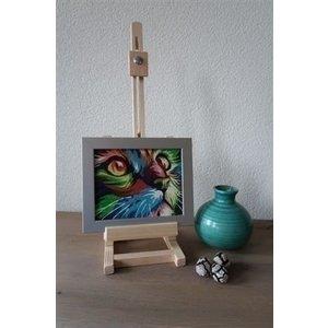 Mini Tafelezel 13 x 13 x 42 cm