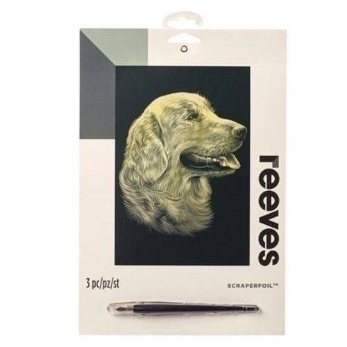 Reeves Reeves krasfolie Golden Retriever Goud PPCF52