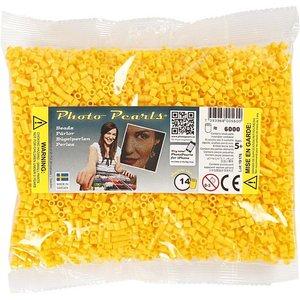 PhotoPearls Photopearls strijkkralen geel 6000 stuks nr 14