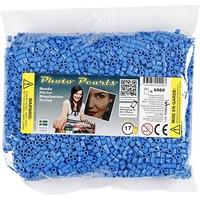 Photopearls strijkkralen blauw 6000 stuks nr 17