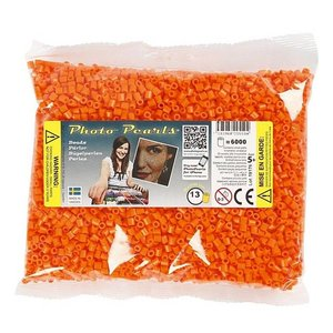 PhotoPearls PhotoPearls strijkkralen oranje 6000 st nr 13