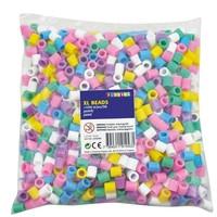 Playbox XL strijkkralen 1000 stuks pastelkleuren