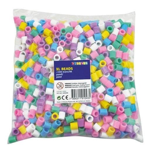 Playbox Playbox XL strijkkralen 1000 stuks pastelkleuren