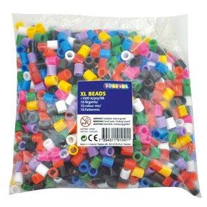 Playbox Playbox XL strijkkralen 1000 stuks basiskleuren