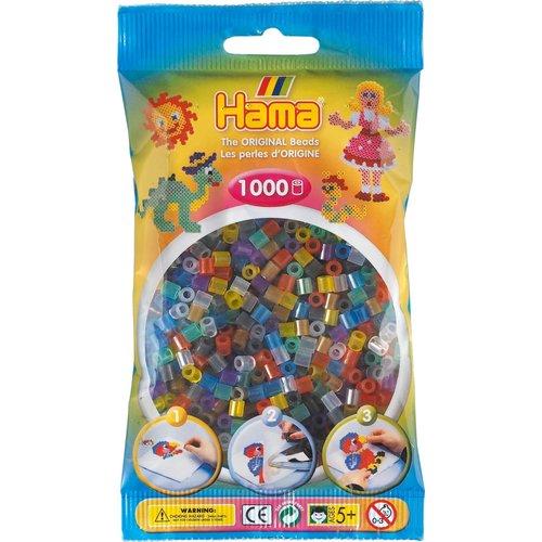 Hama Hama strijkkralen 0053 doorzichtig gemengd 1000 st.