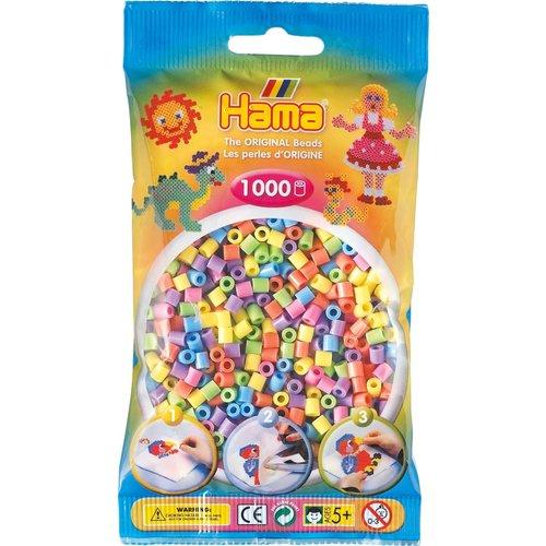 Hama Hama Strijkkralen 0050 pastel gemengd 1000 st.