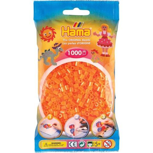 Hama Hama Strijkkralen 0038 oranje neon 1000 st.