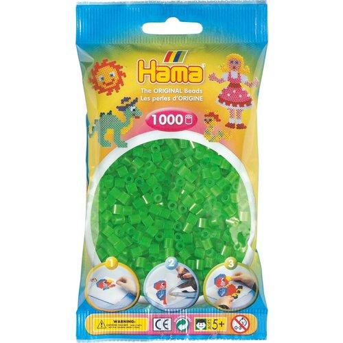 Hama Hama Strijkkralen 0037 groen neon 1000 st.