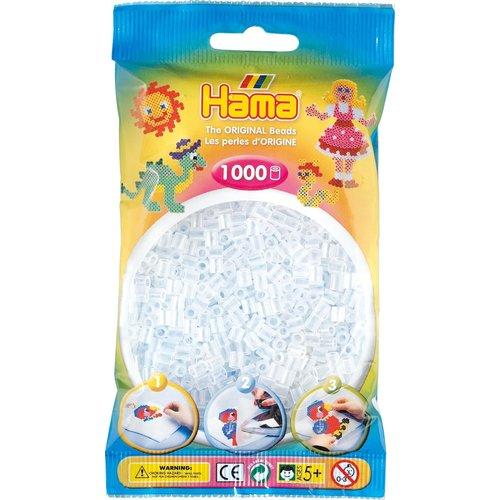 Hama Hama Strijkkralen 0019 doorzichtig 1000 st.