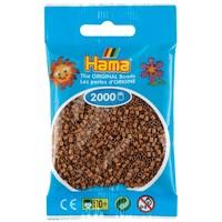 Hama mini strijkkralen Nougat Bruin 0076 2000 st