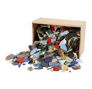 Creotime Mozaiek Glas 15-60 mm 5 mm dikte 2 kilo