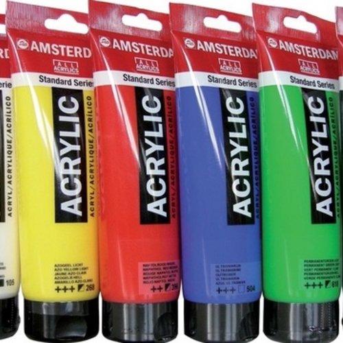 Acrylverf, schilderen met acrylverf