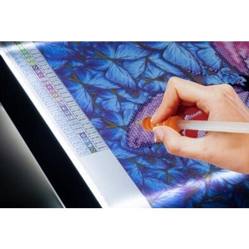 Diamond Dotz Diamond Dotz Lichtbak, Lightpad 33,5 x 23,5 cm