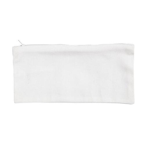 Katoenen Etui Wit 11 x 23 cm