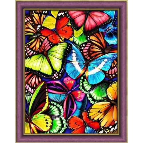 Artibalta Diamond Painting pakket Bright Butterflies AZ-1725