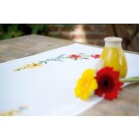 Borduurpakket Loper Bloemen en lavendel 0166929
