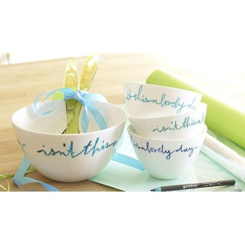 Edding Edding 4200 Porseleinstift Turquoise 014 1-4 mm