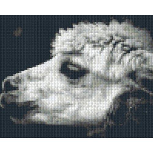 PixelHobby Pixelhobby patroon 5585 Alpaca met 4 basisplaten