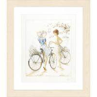Lanarte Telpakket Meisjes op de fiets 0007949