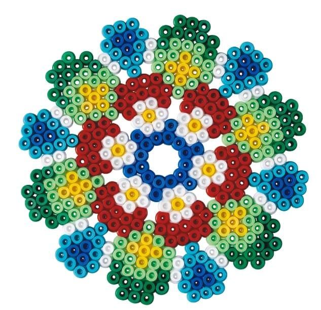 Strijkkralen patroon Mandala
