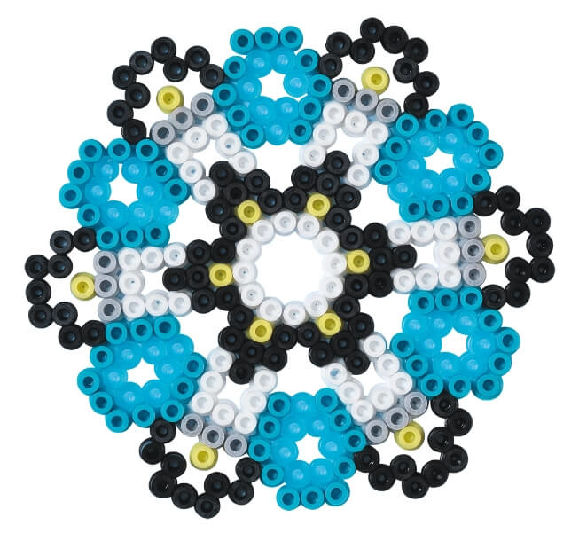 Patroon strijkkralen Mandala