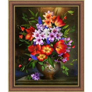 Artibalta Diamond Painting Pakket Flower Assortment AZ-1733