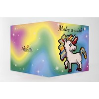Diamond Painting Kaart Make a Wish WC0345