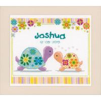 Borduurpakket Schildpad mama en baby 0147415
