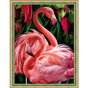 Artibalta Diamond Painting Flamingo Couple AZ-1739