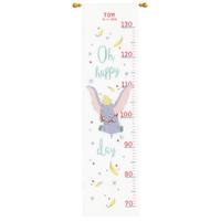 Borduurpakket Groeimeter Disney Dombo Oh happy day 0178436