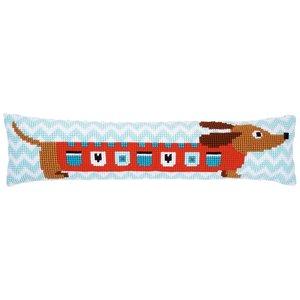 Vervaco Vervaco Borduurpakket Tochtkussen Leuke hond 0158069