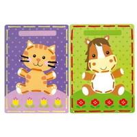 Vervaco borduurkaarten poes en pony 0164929