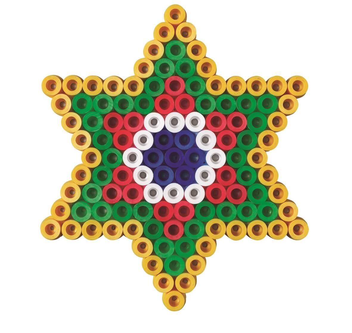 Strijkkralen kerst ster
