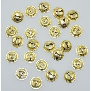 Playbox Gouden bellen 15 mm 25 stuks
