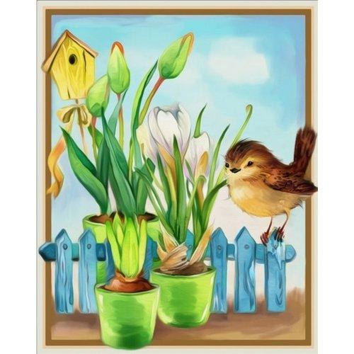 Diamond Painting Vogel
